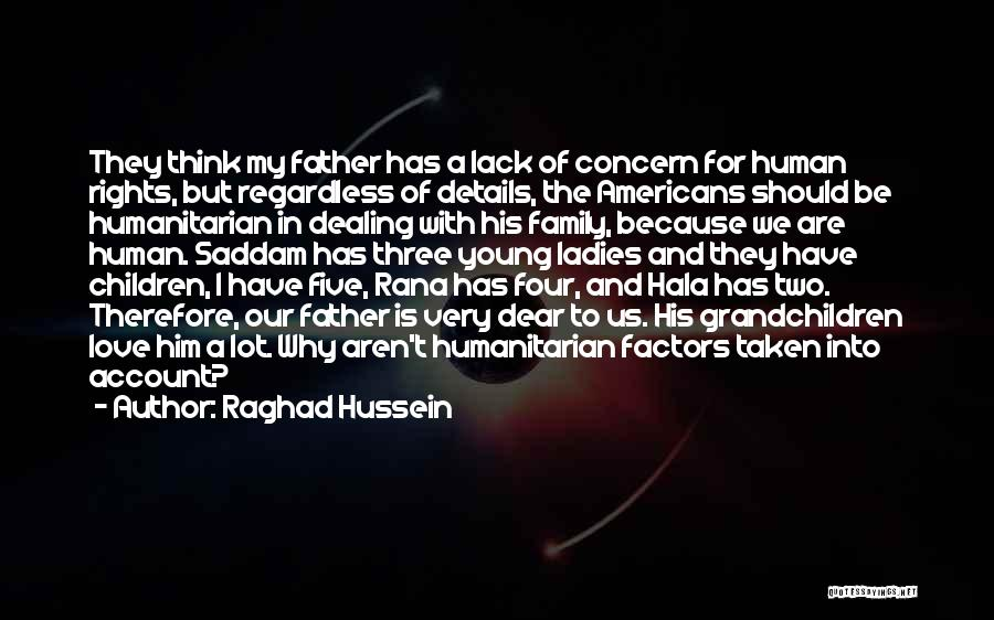A Family Of Three Quotes By Raghad Hussein