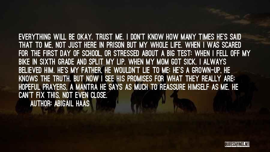 A Father Who Is Sick Quotes By Abigail Haas