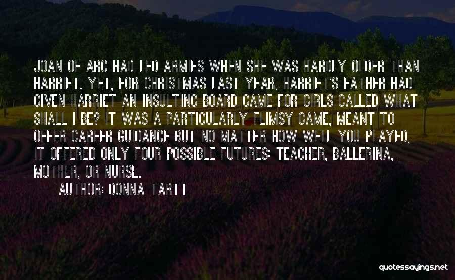 A Father's Guidance Quotes By Donna Tartt