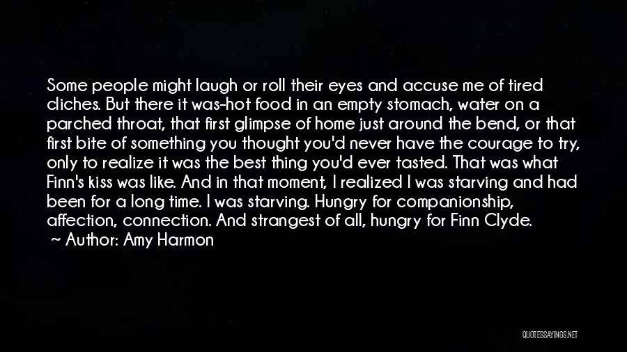 A First Kiss Quotes By Amy Harmon