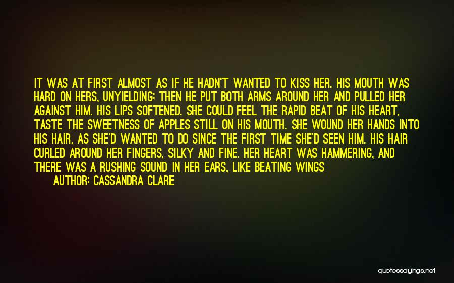 A First Kiss Quotes By Cassandra Clare