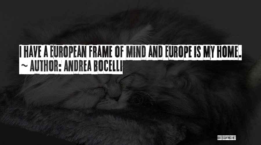 A Frame Quotes By Andrea Bocelli