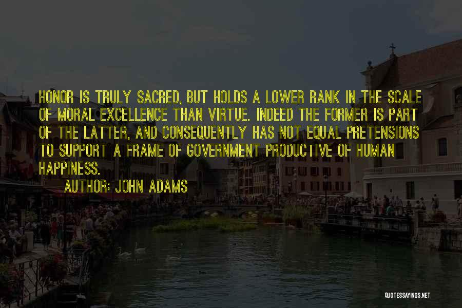 A Frame Quotes By John Adams