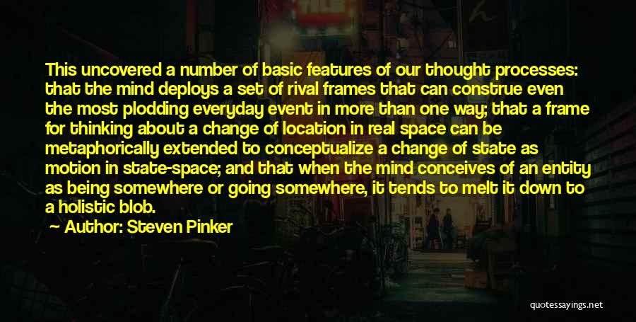 A Frame Quotes By Steven Pinker