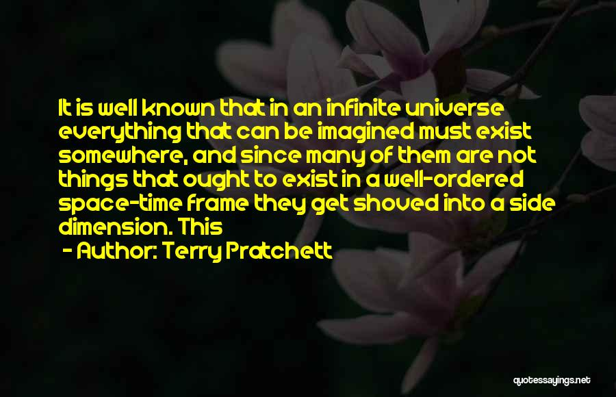 A Frame Quotes By Terry Pratchett