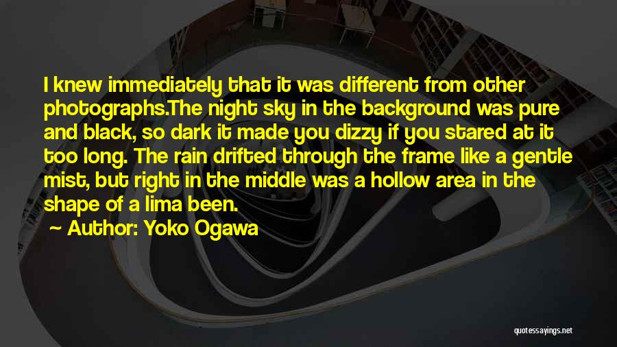 A Frame Quotes By Yoko Ogawa