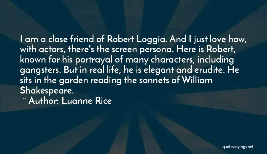 A Friend Is For Life Quotes By Luanne Rice