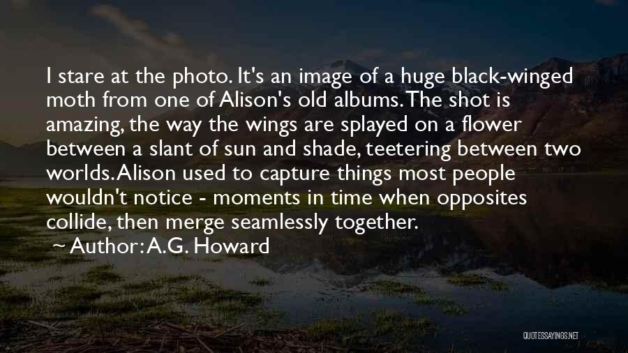 A.G. Howard Quotes 1150904