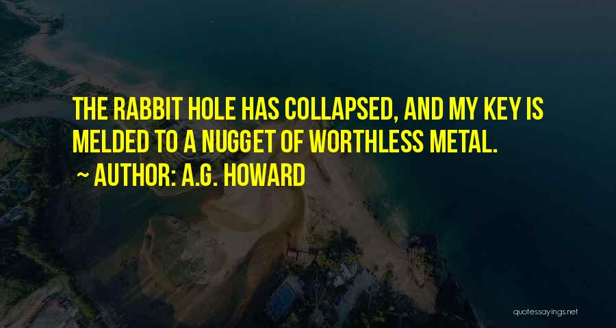 A.G. Howard Quotes 1176669