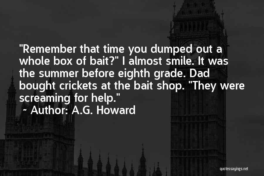 A.G. Howard Quotes 1708156