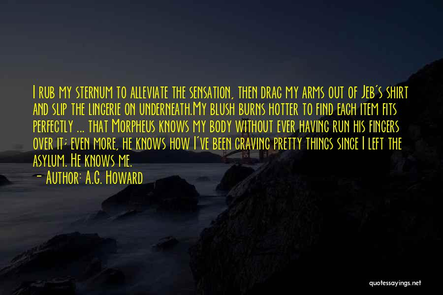 A.G. Howard Quotes 811149
