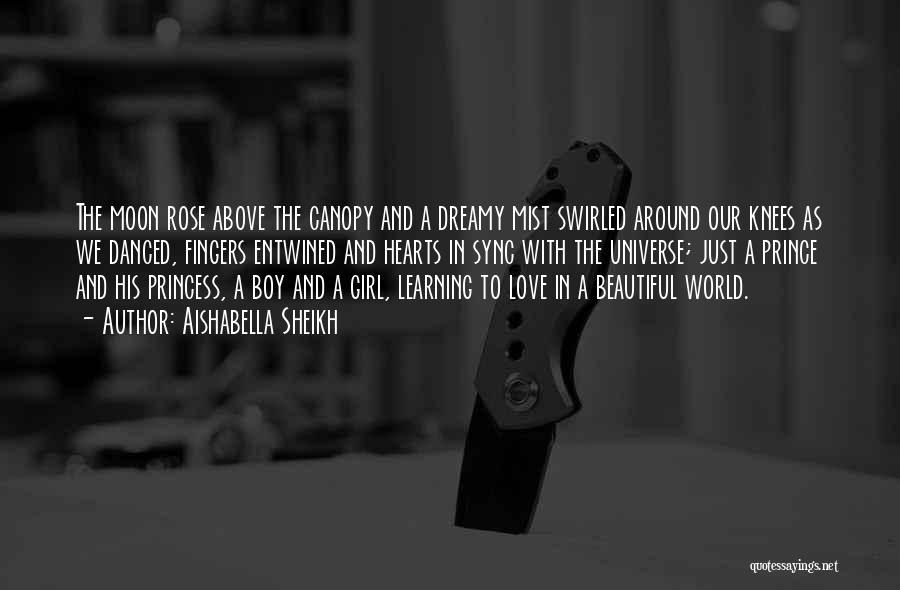 A Girl And A Boy In Love Quotes By Aishabella Sheikh