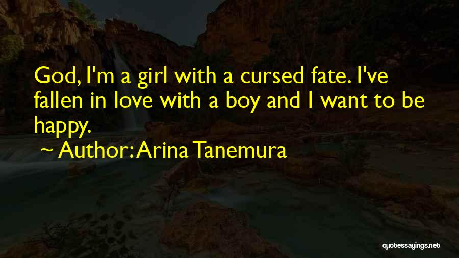 A Girl And A Boy In Love Quotes By Arina Tanemura