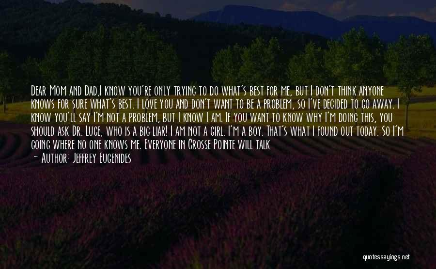 A Girl And A Boy In Love Quotes By Jeffrey Eugenides