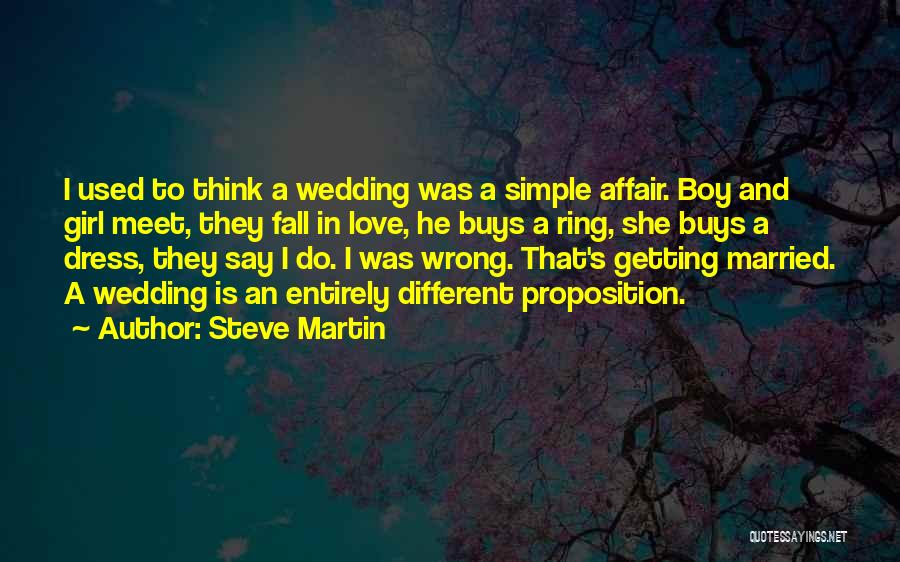 A Girl And A Boy In Love Quotes By Steve Martin