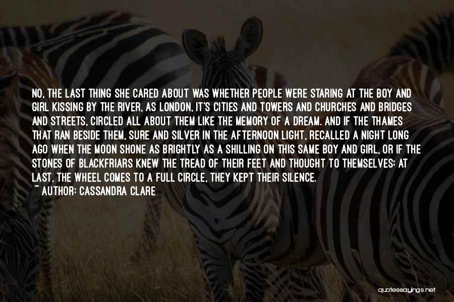A Girl's Dream Quotes By Cassandra Clare