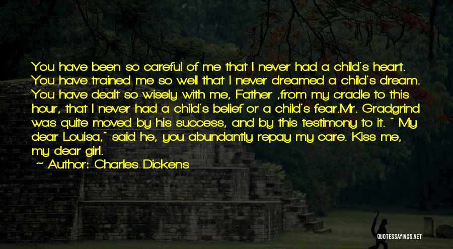 A Girl's Dream Quotes By Charles Dickens