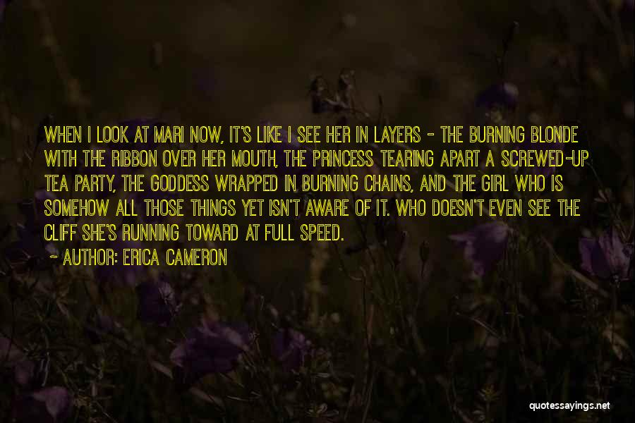 A Girl's Dream Quotes By Erica Cameron