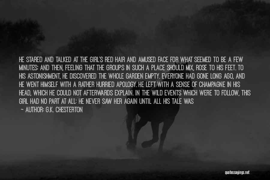 A Girl's Dream Quotes By G.K. Chesterton