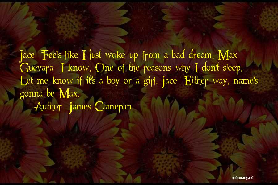 A Girl's Dream Quotes By James Cameron