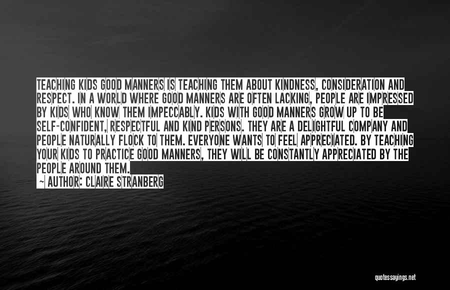 A Good Company Quotes By Claire Stranberg