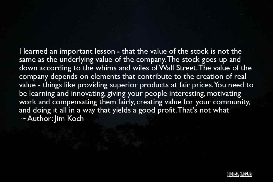 A Good Company Quotes By Jim Koch