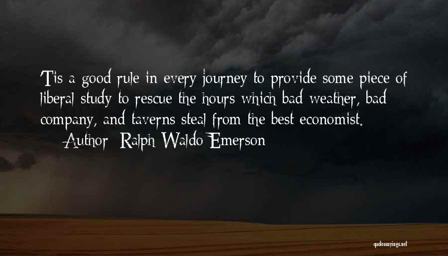A Good Company Quotes By Ralph Waldo Emerson