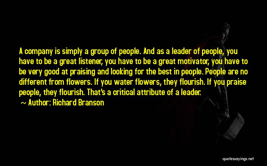 A Good Company Quotes By Richard Branson