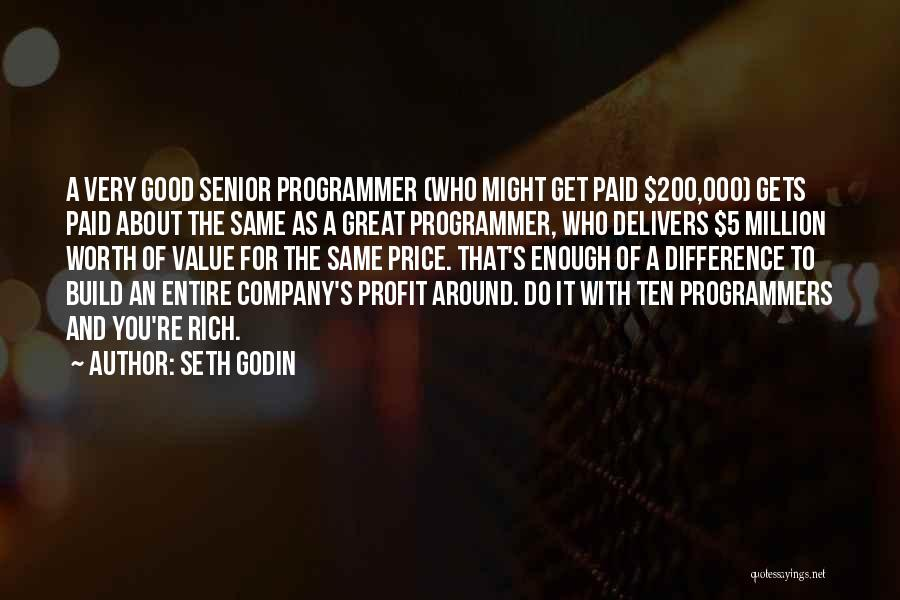A Good Company Quotes By Seth Godin