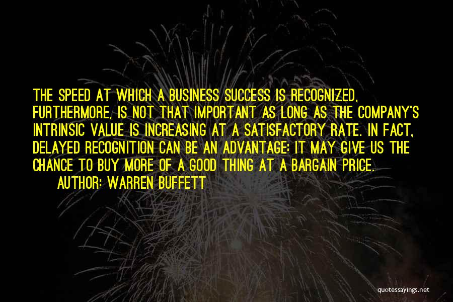A Good Company Quotes By Warren Buffett