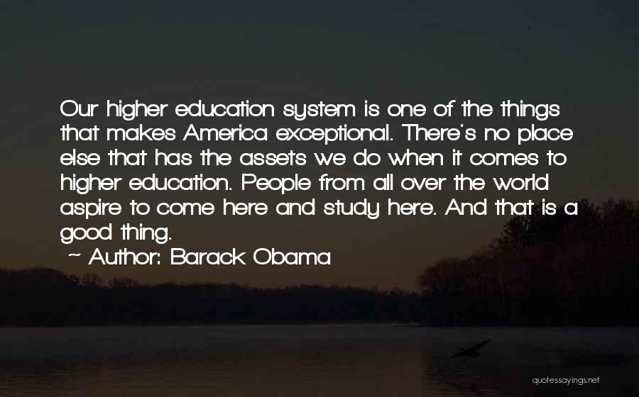 A Good Education Quotes By Barack Obama