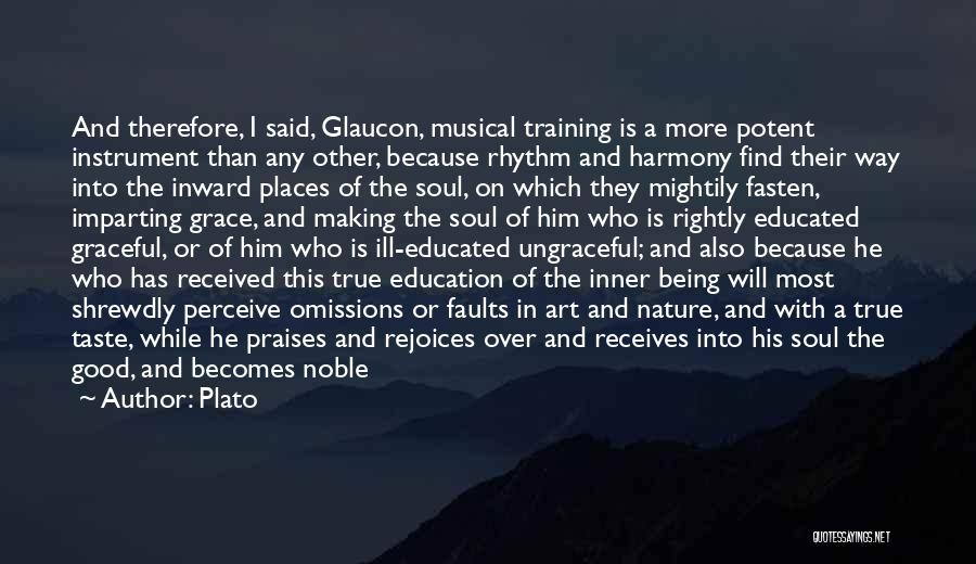 A Good Education Quotes By Plato