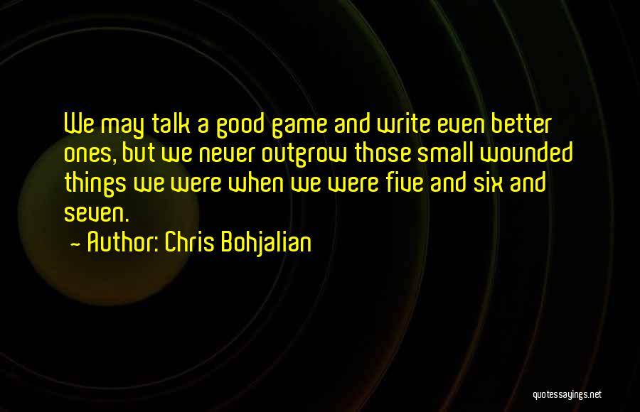 A Good Experience Quotes By Chris Bohjalian