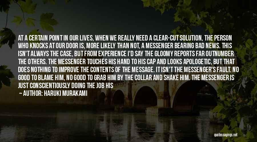 A Good Experience Quotes By Haruki Murakami