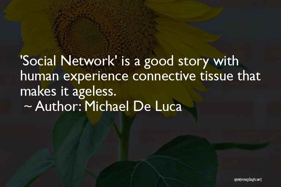 A Good Experience Quotes By Michael De Luca