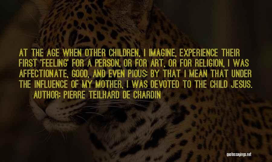 A Good Experience Quotes By Pierre Teilhard De Chardin