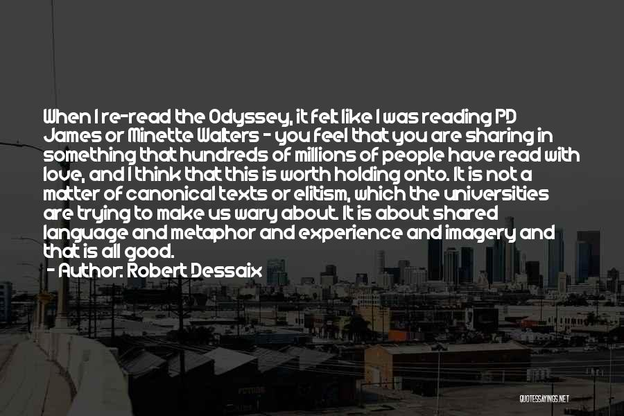 A Good Experience Quotes By Robert Dessaix
