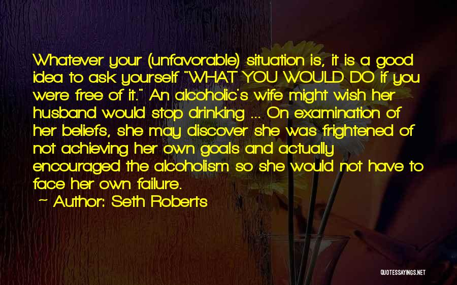 A Good Wife Is Quotes By Seth Roberts