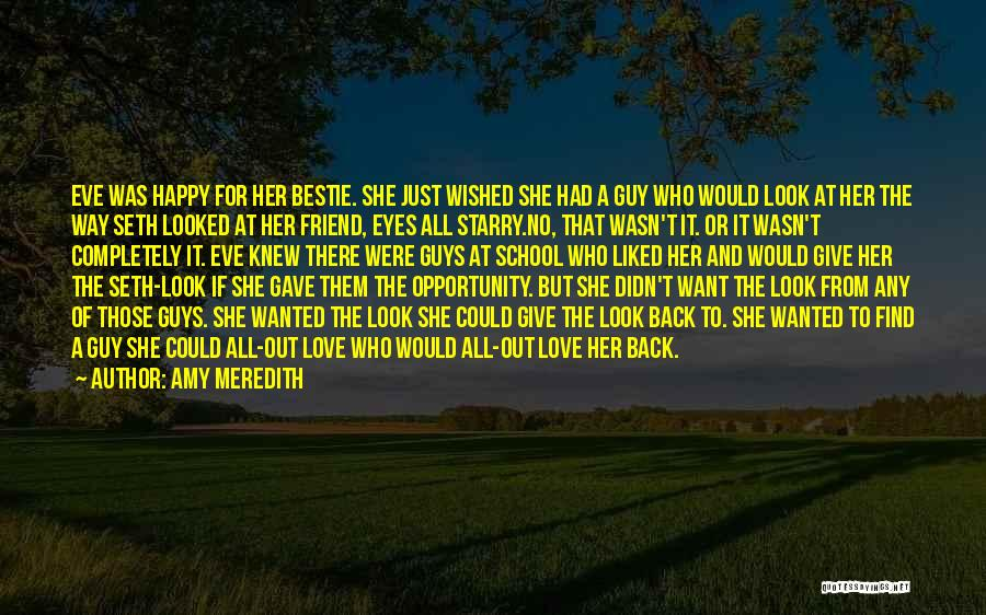 A Guy And A Girl Quotes By Amy Meredith