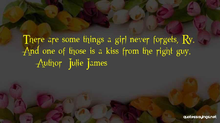 A Guy And A Girl Quotes By Julie James