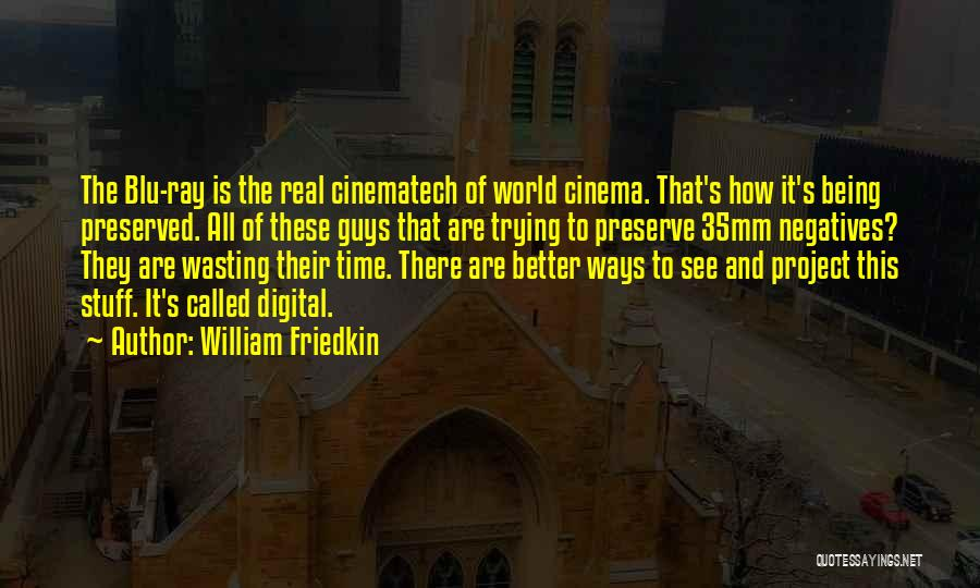 A Guy Wasting Your Time Quotes By William Friedkin