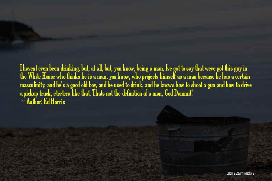A Guy You Like Quotes By Ed Harris