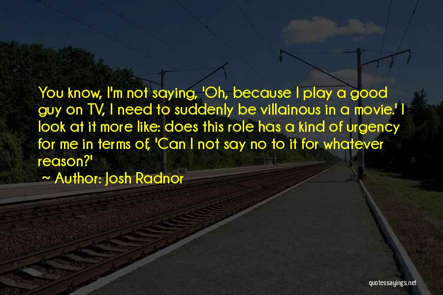 A Guy You Like Quotes By Josh Radnor