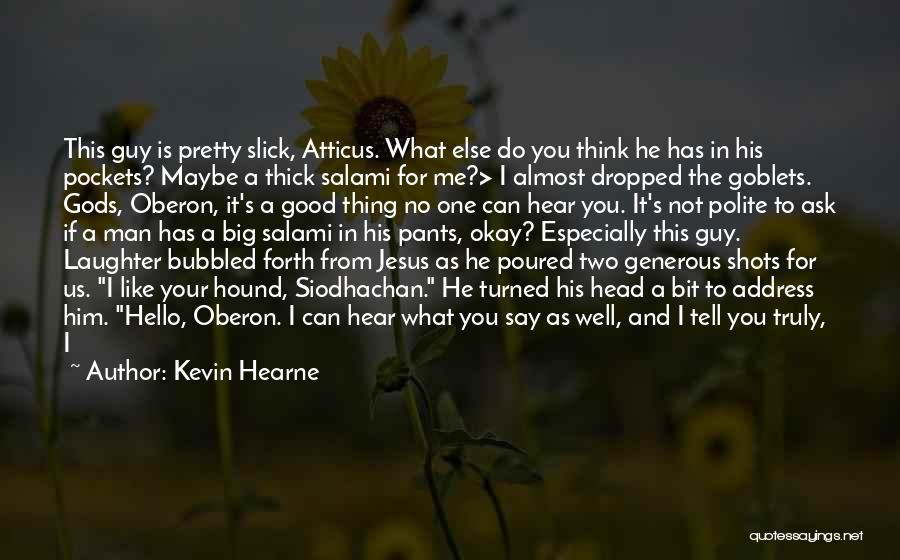 A Guy You Like Quotes By Kevin Hearne