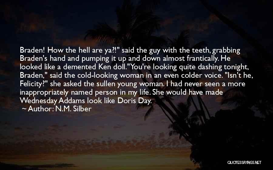 A Guy You Like Quotes By N.M. Silber