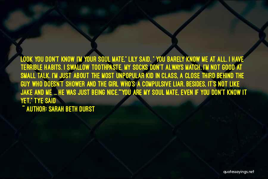 A Guy You Like Quotes By Sarah Beth Durst