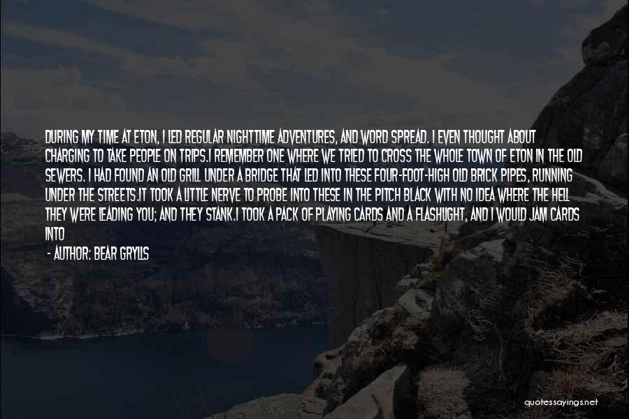 A House Of Cards Quotes By Bear Grylls