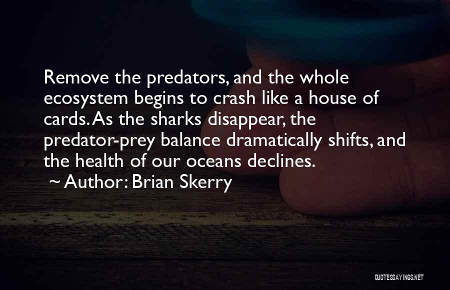A House Of Cards Quotes By Brian Skerry