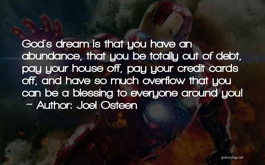A House Of Cards Quotes By Joel Osteen