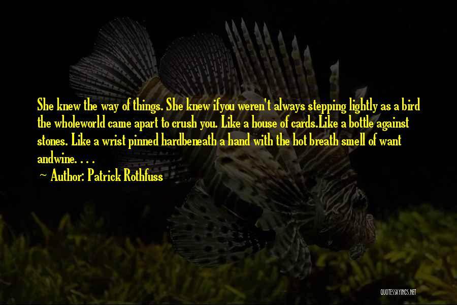 A House Of Cards Quotes By Patrick Rothfuss